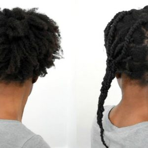 How I Stretch And Trim My 'Fro Using African Hair Threading – Natural Hair Shrinkage [Video]