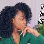 Elongated 3 Strand Twistout!! [Video]