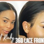Very Natural  Kinky Straight Texture Lace Wig [Video]