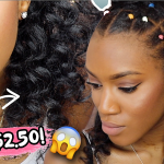 $2.50 Braidless Crochet Voluminous Curls in 1 Hour