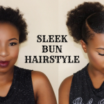 How to – Sleek Low Bun on Short Hair