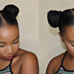 QUICK + EASY Space Buns Tutorial on Short Hair