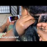 Wow, You Cant Even Tell! Best Looking Knotless Braids Ever ! [Video]