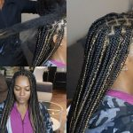 Knotless Box Braids On Extremely Long Hair – Regular Speed & Slow Motion [Video]