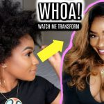 How To: Natural Hair Lace Front Wig Start To Finish [Video]
