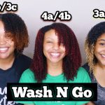 The Same Wash N Go Combo On 3 Different Hair Types [Video]