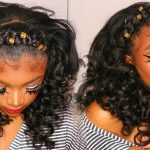 Half Feed In Braid W/ Mermaid Curls [Video]