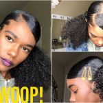 Swoop Slick Space Buns/Ponytails – Natural Hair [Video]