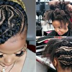 Jumbo Lemonade Braids – Feed-In Braids – 4C #Naturalhair [Video]