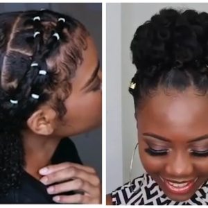 Crochet Updo, Ponytails With Extensions, Puff And Other Amazing Styles For Black Women