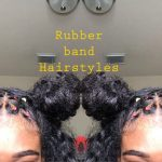 Rubber Band Hairstyles | Natural Hair [Video]