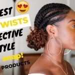 Flat Twist Protective Style [Video]