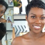 10 Weeks Post Color& Relaxer! Plus Mold & Style! Short Hair Tutorial [Video]