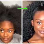 Comb coils on Type 4 Hair, Ponytail slay, Cornrows And Other Fab Hairstyles For Black Women