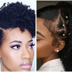 Faux Goddess French Braids, Big Chop Tapered Afro, Wash & Go And Other Amazing Styles For Black Women