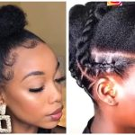 Twisted Updo, Half Up Half Down With Extensions And Other Amazing Styles For Black Women