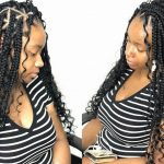 Fiesta Triangle Braids (Beginner Friendly) Neatest Goddess Box Braids [Video]
