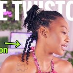 Twistout On Wet Hair .. No Gel [Video]