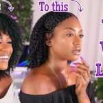 The Wet Look On Thick Type 4 Natural Hair – 1 Custard 2 Gels [Video]