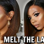 Lace Where? How To Melt Lace Wig Easy W/ Freeze Spray + No Baby Hairs #Meltdown [Video]