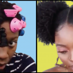 Double Puff With Extensions, Rubberband Crochet Passion Twists Hairstyle Compilation For Black Hair