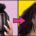 Half Up Half Down Crochet, Relaxer & Pixie, Mega Bun And Other Fab Hairstyles For Black Women
