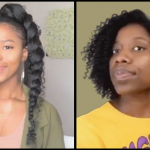 Milkmaid Braids, Straw Set & Braided Ponytail Slayage Hairstyles For Natural Hair