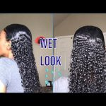 I Tried The Wet Look On My Natural Hair – Beach Look [Video]