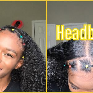 How To: Rubber Band Headband – Natural Hair [Video]