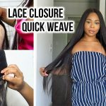 Lace Closure Quick Weave: How To Install, Easy Technique! [Video]
