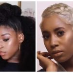 Short Hair Blonde Transformation, Kids Braid Out With Buns & Other Hairstyles For Black Women and Kids