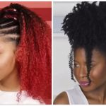 Spiral Rod Curls, Puff W/Criss Crossed Rubber Band Detail & Other Hairstyles For Black Women