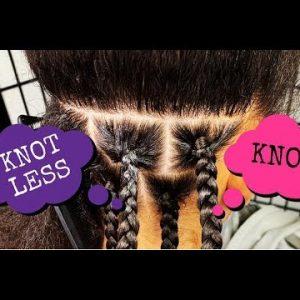Knots Vs Knotless Braids