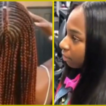 Heatless Straight Hair With Rollerset, DIY Fulani Braids, Rubberband Method Passion Twists
