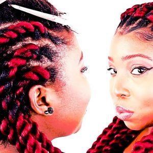 Step By Step How To: Rope Cornrow Braids For Beginners!