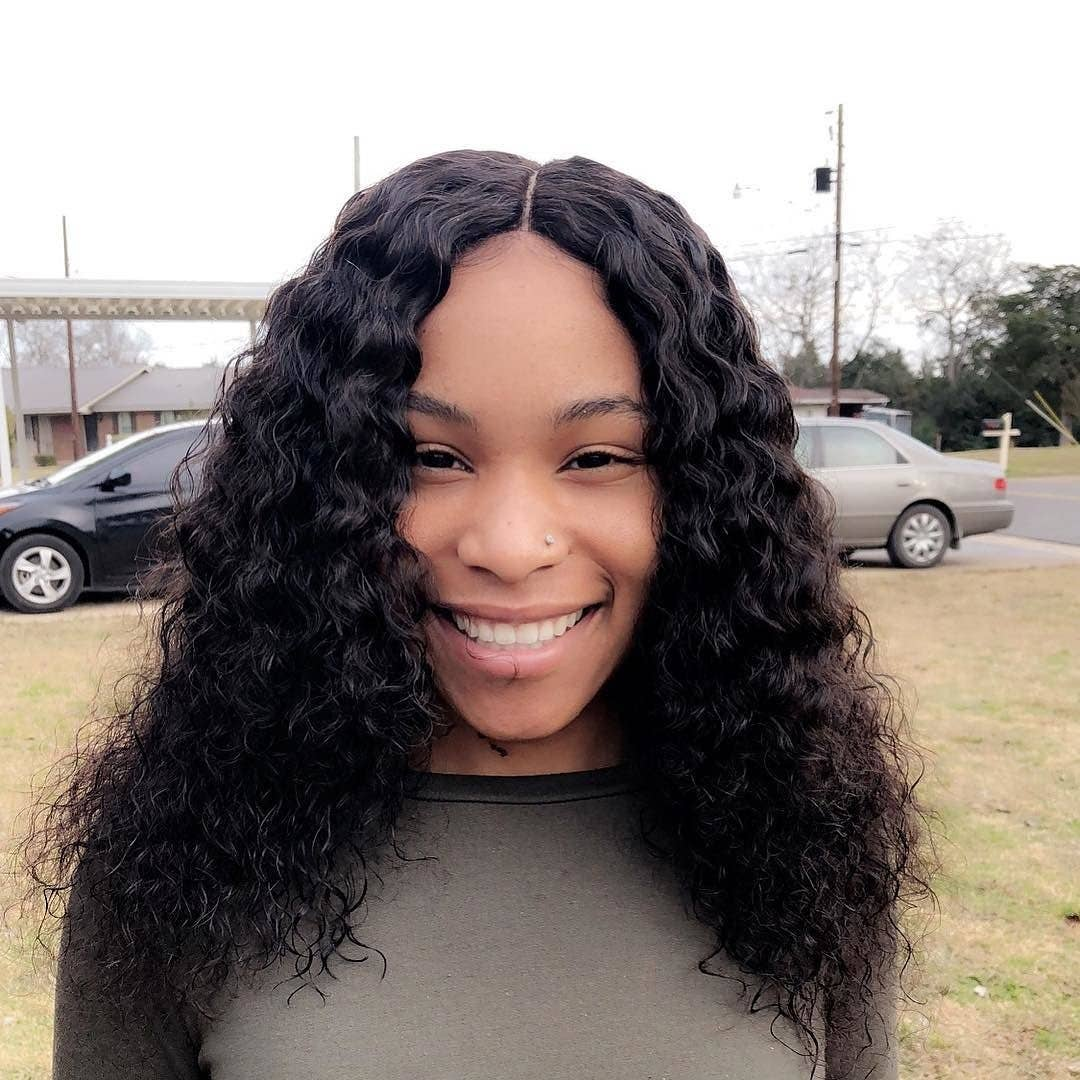 @styledby_bam water wave 18 18 18 18 lace frontal
