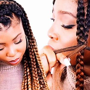 How To: Poetic Justice Braids For Beginners – Patra Jumbo Box Braids Step By Step